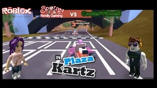 SFG - Roblox - Plaza Kartz Collab Fun with CodePrime8!