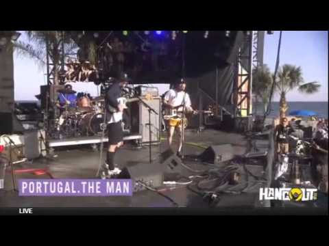 """Portugal. The Man """"Cover PinkFloyd+PYRB Feat.Spencer Ludwing (CC)"""" /HangOutFest(2014)"""
