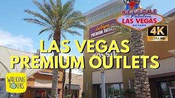 Las Vegas South Premium Outlets Mall 2019 | 4K Ultra HD Walking Tour
