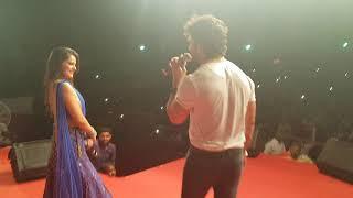 Khesari Lal Yadav और Nidhi Jha का जबरदस्त स्टेज शो | डोली में गोली मार देब | Hit Live Stage Show
