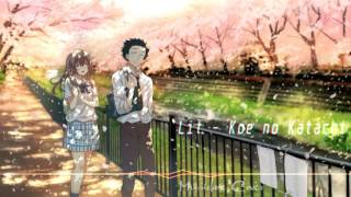 [Music box Cover] Koe no Katachi (A Silent Voice) - Lit