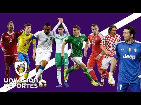 Definidos los juegos de repechaje de UEFA para Rusia 2018