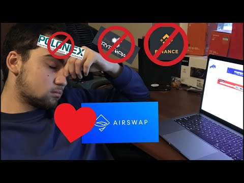 WHATS THE NEXT BIG CRYPTO CURRENCY EXCHANGE. IS AIR SWAP THE ANSWER ?