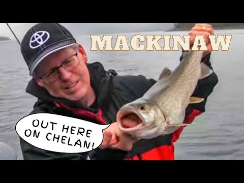 Fishing For Mackinaw (Lake Trout) On Lake Chelan