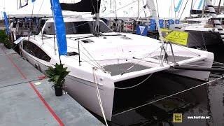 2016 Seawind 1190 Sport Catamaran - Quick Deck Walkaround - 2016 Annapolis Sailboat Show