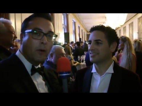 Exclusive interview with Juan Diego Flórez (ESC Vienna 2015)