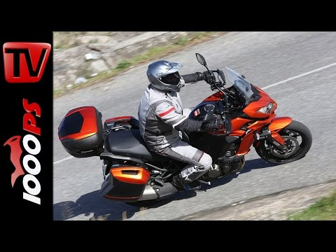 Kawasaki Versys 1000 - 2015 Test | Action, Sound, Fazit