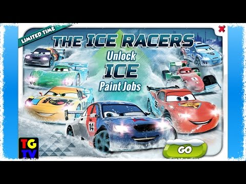 CARS Fast as Lightning - View Lightning McQueen and Ice Racers