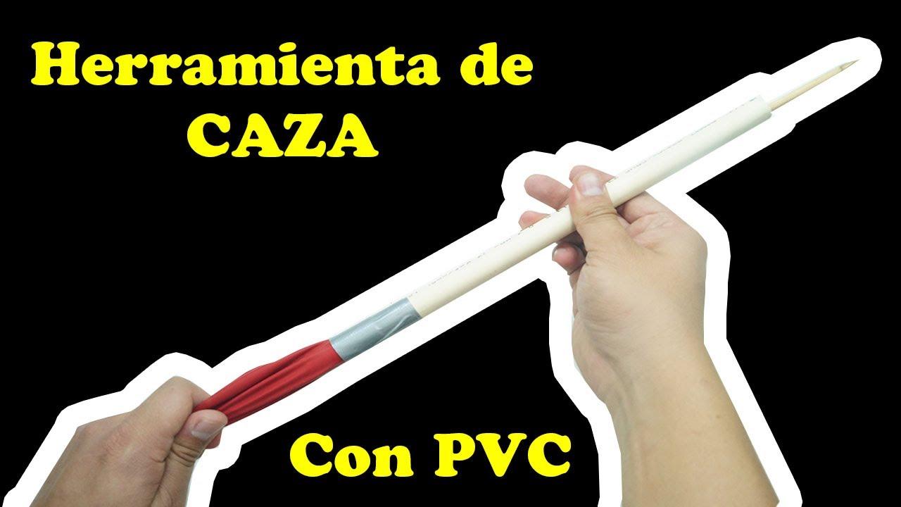 herramienta De Caza Con PVC - TUTORIAL - YMX supervivencia