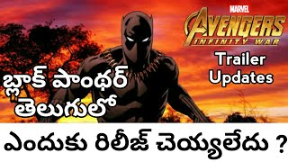 Why the Black Panther did not Release in Telugu || Mister Rajini