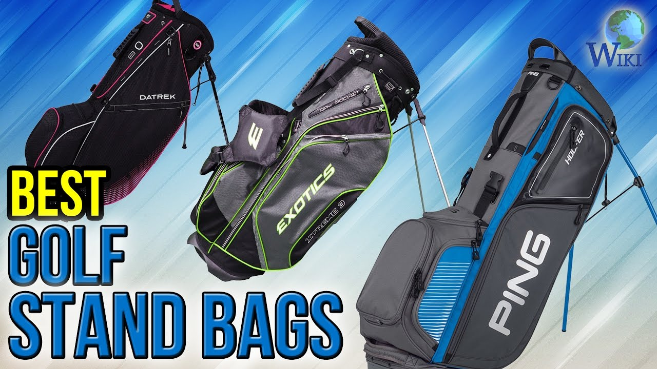 ea7265a812 10 Best Golf Stand Bags 2017 - YouTube