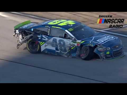 Elton Sawyer on No. 48 penalty during red flag at Talladega