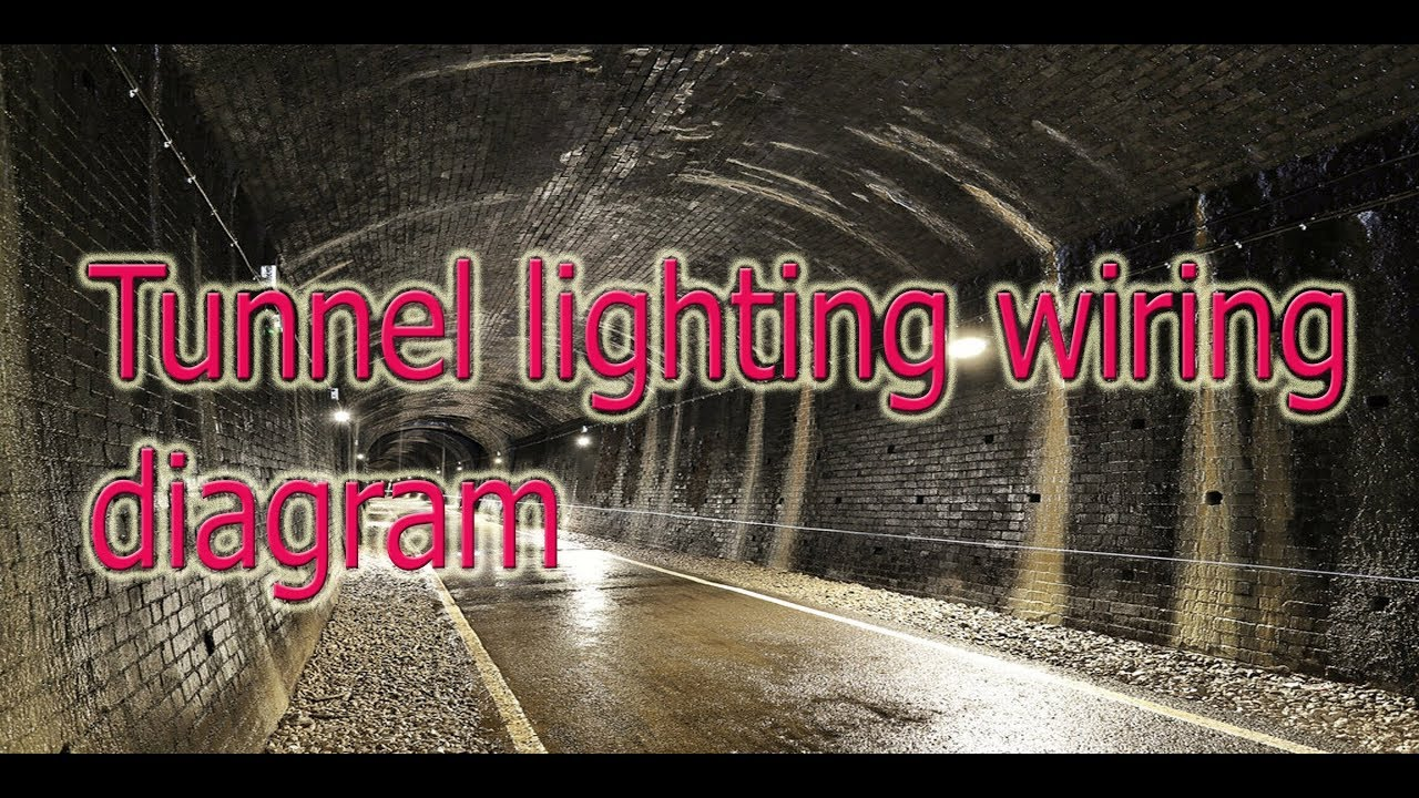tunnel circuit lighting wiring diagram in hindi urdu youtube rh youtube com