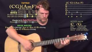 John Cougar, John Deere, John 3:16 (Keith Urban) Guitar Lesson Chord Chart