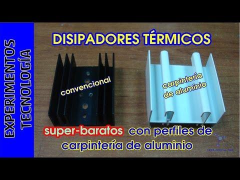 DISIPADORES TÉRMICOS super baratos para electrónica