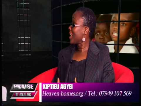 Praise Talk Interviews with Dr. CJ Buckman and Kiptieu Agyei, founder of Heaven Homes