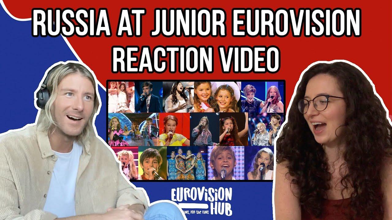 Russia at Junior Eurovision (Reaction Video) | Eurovision Hub