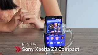 Sony Xperia Z3 Compact - Video Review HD (Indonesia)