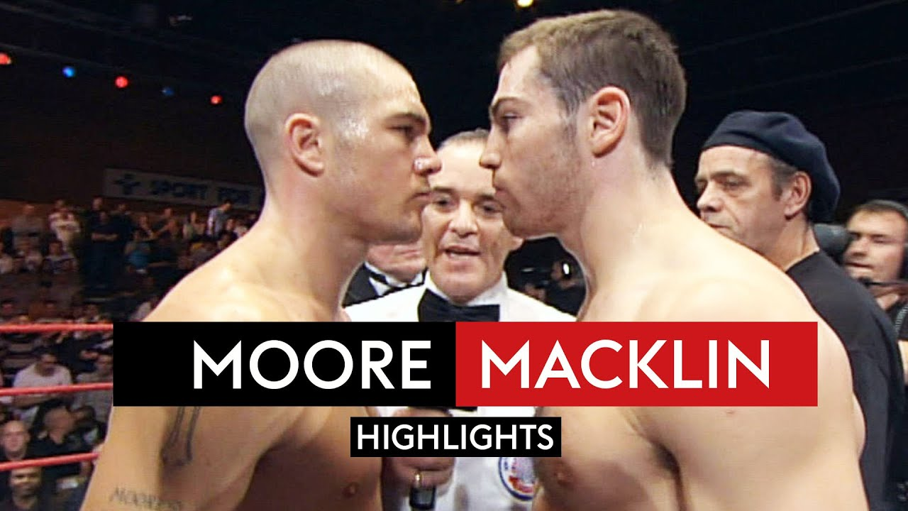 Jamie Moore & Matthew Macklin's all out WAR