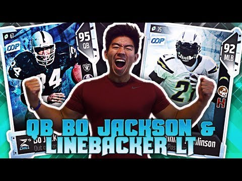 QB BO JACKSON! LADAINIAN TOMLINSON PLAYING LINEBACKER! Madden 18 Ultimate Team