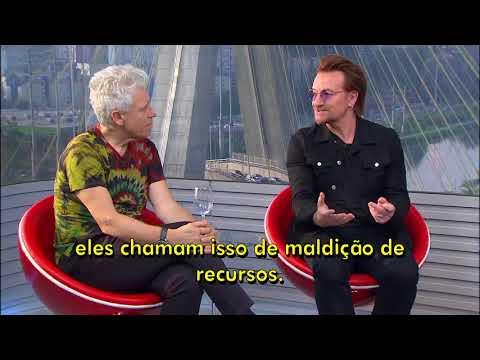 The U2 interview to Fantástico | U2 no Brasil