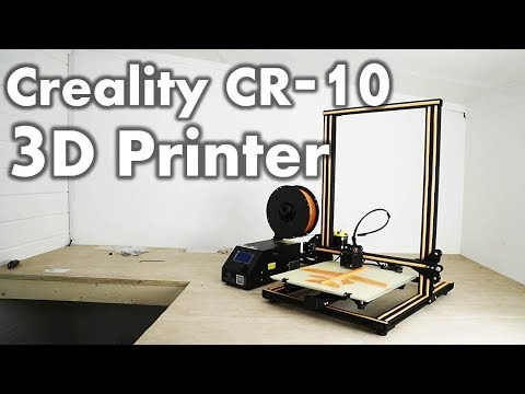 Creality CR10 - Unboxing, Setup & Initial Review