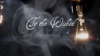 The official lyric video for Amberstein - Toast To The Wicked www.a...