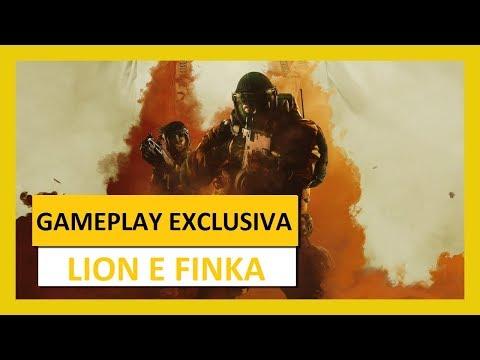 RAINBOW SIX - Nova / NEW Gameplay Lion e Finka (Operation Chimera)
