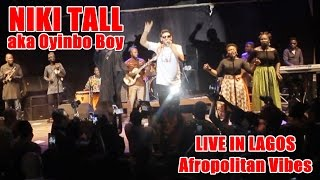 Niki Tall (Oyinbo Boy) - Double Wahala Live Performance
