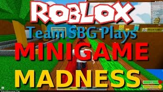 Team SBG Plays: Roblox - Minigame Madness (Family 4 Player)