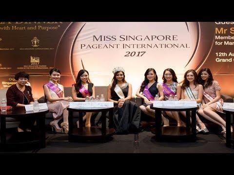 Srinidhi Shetty attended Miss Singapore International 2017 press conference