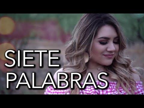 Siete Palabras - Luis Coronel ( Marián Oviedo cover )