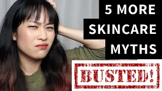 Skincare - More Huge Skincare Myths and What to Do Instead | Lab Muffin Beauty Science