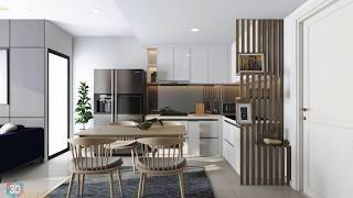 Dự án căn hộ T5 Axx.01 Masteri Thảo Điền quận 2 , 47m , 1 phòng ngủ , Anh Thịnh