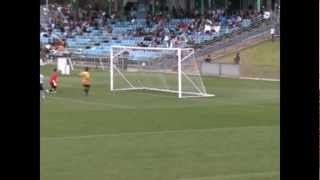 Devlin Malone 6 goals for NSW vs WA at National FFA Football Championships under 13s