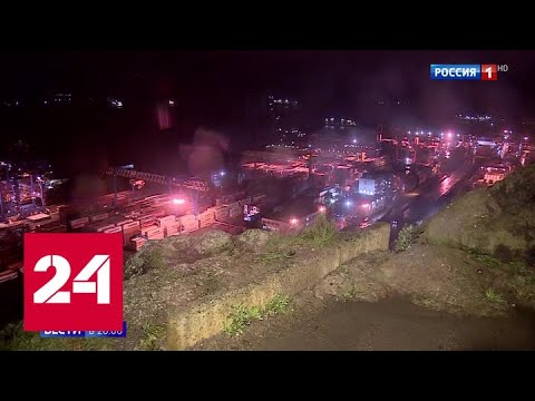 Владивосток первым принял на себя удар мощного циклона