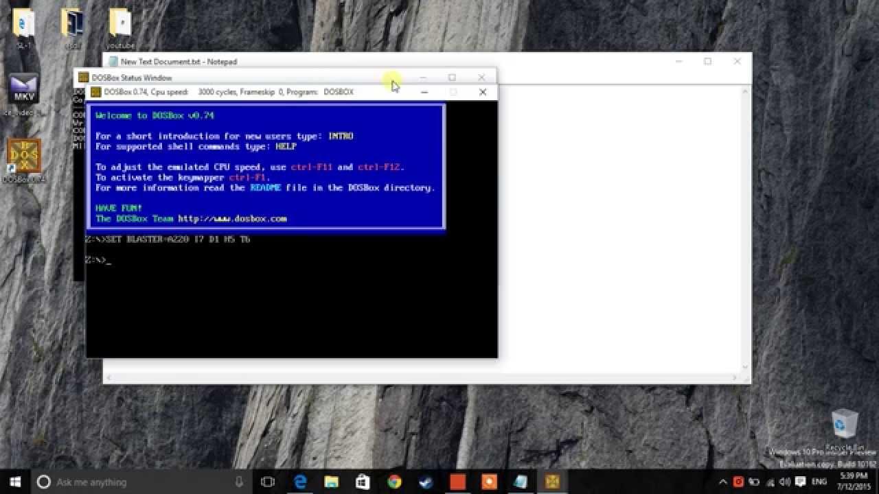 Install TASM in Windows 10