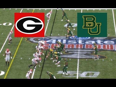 Baylor Vs Georgia Football Bowl Game 1 1 2020