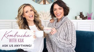 How To Set Goals, Feel Motivated, & Make Time For You ~  Kombucha With Karena & Katrina Q&A