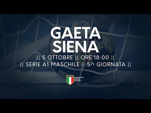 Serie A1M [5^]: Gaeta - Siena 23-37