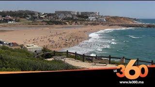 Le360.ma • اقبال كبير على شواطئ طنجة في عطلة عيد الفطر