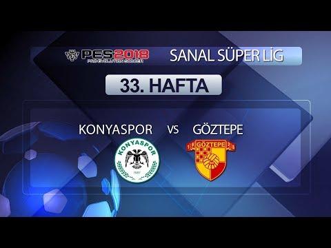 Konyaspor - Göztepe | PES 2018 Sanal Süper Lig 33. Hafta