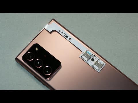 Galaxy Note20 Ultra DUAL SIM Adapter Transformer SIMore Speed ZX-Twin -How To Use 2 SIM & 1 Micro SD