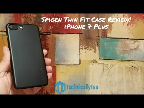 iPhone 7 Plus Spigen Thin Fit Case Review!