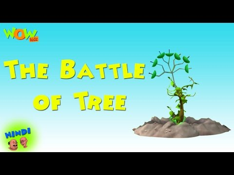 The Battle of Tree -  Motu Patlu in Hindi WITH ENGLISH, SPANISH & FRENCH SUBTITLES thumbnail