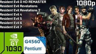 Resident Evil 0-7 - Revelations 1-2 [PC] GT 1030 2GB GDDR5 & Intel Pentium G4560 & 8GB RAM