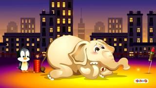 Diwali Wishes   Diwali Celebration With Fun   Happy Deepavali Animation   Zoozoo tv