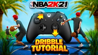 HANDCAM DRIBBLE TUTORIAL + BEST DRIBBLE MOVES ON NBA2K21! HOW TO DRIBBLE ON ISO & SCREENS IN 2K21!