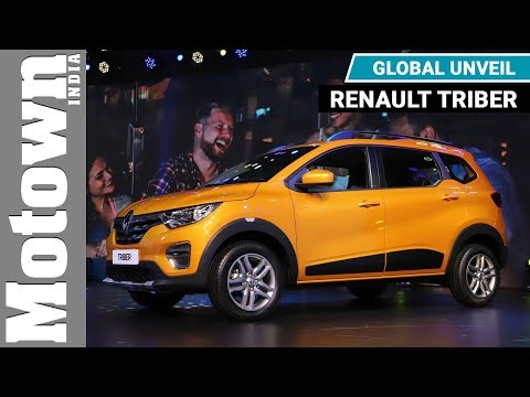Renault Triber MPV / hatchback | Global Unveil | Motown India