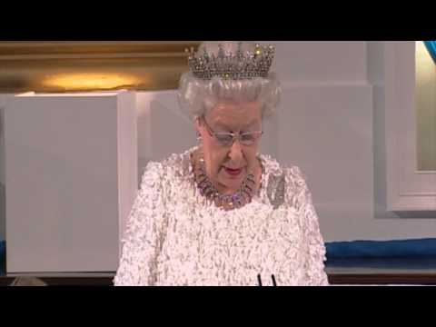 The Queen's speech at the State Dinner in Ireland